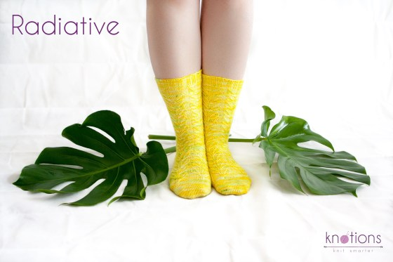 Radiative socks, published in Knotions