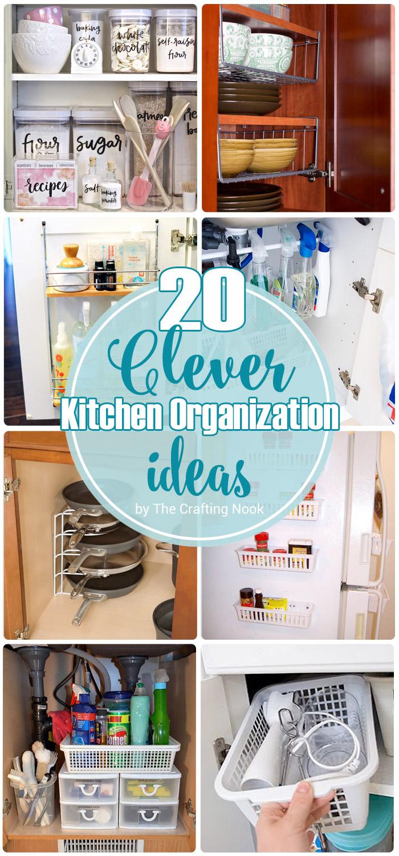 20 clever kitchen organization ideas kitchen organization ideas 20 Clever Kitchen Organization Ideas