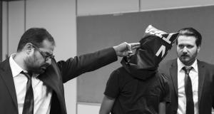 نمایش مرد بالشی، عکسها از بهاره احمدی