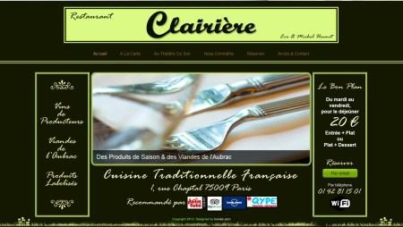 Restaurant Clairière