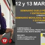 Seminario suelo pélvico, entrenamiento, movilidad en CrossFit Boadilla