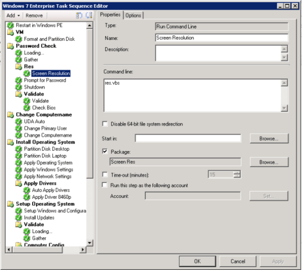 Set screen resolution in WinPE with qres | Tjindarr's Blog on System Center