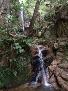 二段の大滝。
