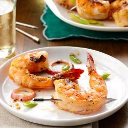 Aweinspiring Grilled Seasoned Shrimp Exps23202 Ugg143377b01 23 3bc Rms How Long To Grill Shrimp Scallops How Long To Grill Shrimp On Charcoal