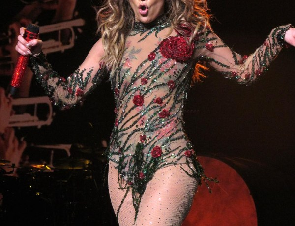 Jennifer Lopez performs the opening night of her All I Have residency at Planet Hollywood in Las Vegas, NV  Picture by: London Entertainment/Splash   Ref: LELA 200116 E  Splash News and Pictures Los Angeles: 310-821-2666 New York: 212-619-2666 London: 207-107-2666 photodesk@splashnews.com www.splashnews.com