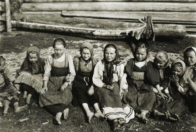 Group of children in sarafans