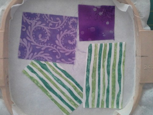 Turn and Sew Applique Quilt Block