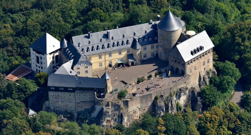 View Waldeck Castle Edersee Germany toeurope to-europe.com