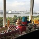 美味しいデザートと綺麗な景色で記念日を祝おう!ヒルトン東京のデザートビュッフェに行ってきた!
