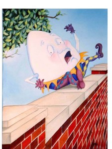 Humpty Dumpty vs the Wall