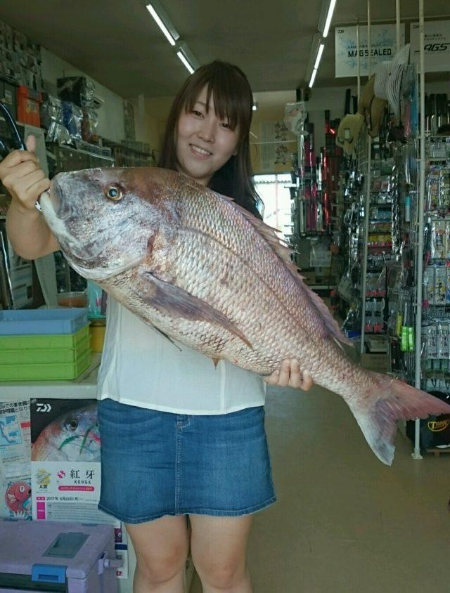 ドデカ真鯛!(^^)! 釣果068