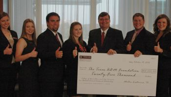 Texas A&M agriculture students create $25,000 scholarship with future students in mind