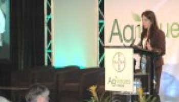 Keynote address at Ag Issues Forum focuses on how science, biotechnology benefit agriculture