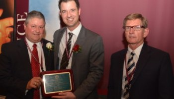 Four inducted into Tyrus R. Timm Honor Registry