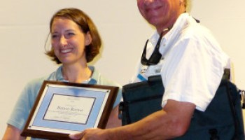 Rector receives Texas Master Naturalist Program award