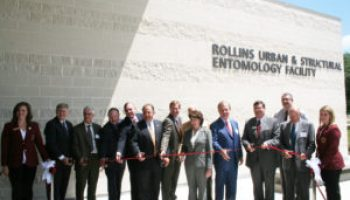 Rollins Urban and Structural Entomology Facility opens at Texas A&M University