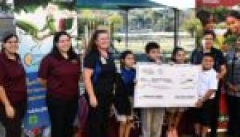 Baskin Elementary in San Antonio receives $1,000 grant for pollinator program