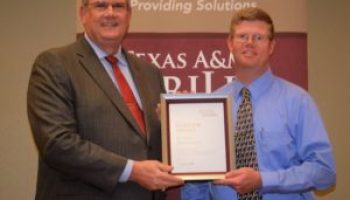 Hathcoat recognized with AgriLife Extension Superior Service award