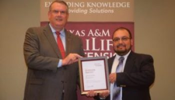 Ramirez recognized with AgriLife Extension Superior Service award
