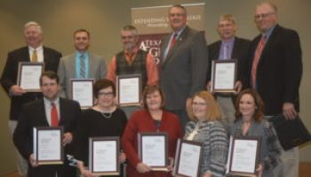 AgriLife Extension recognizes Panhandle Wildfire Response Team with agency award