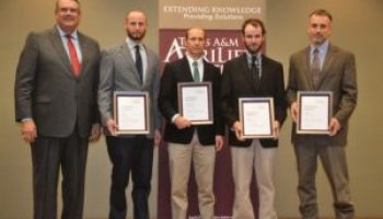 Cotton technology education effort earns AgriLife Extension Superior Service award