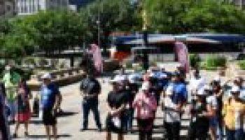 Bexar County employees complete Walk Across Texas