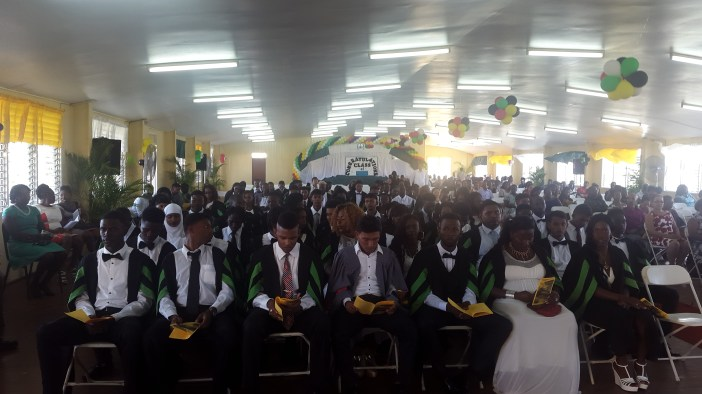 The Guyana School of Agriculture graduating class of 2017