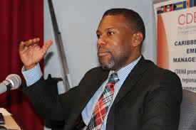 Executive Director of the Caribbean Disaster Emergency Management Agency (CDEMA), Mr.Ronald Jackson