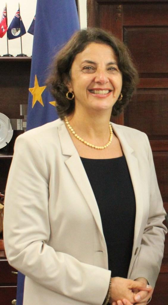 EU representative, Daniela Tramacere