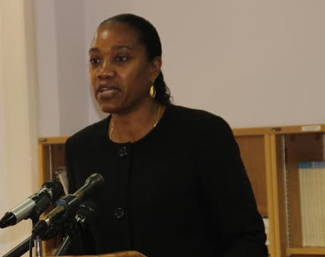Dominica Foreign Minister, the Hon. Francine Baron (Photo via Dominica News Online)