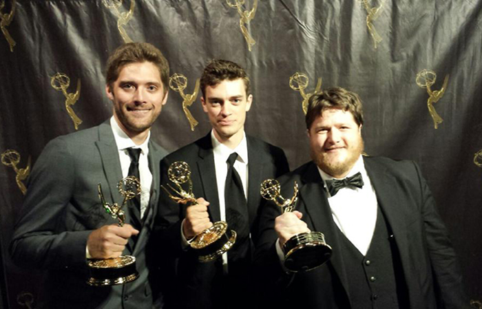 Alumnus Matthew Ritenour ('13) wins Emmy for ALVA-produced film.