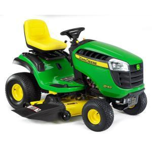 D140 2011 John Deere 48 in 22 HP Riding Mower Model D140 Review