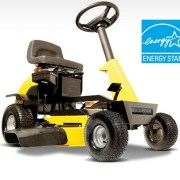 Recharge Mower. The first energy star rider.