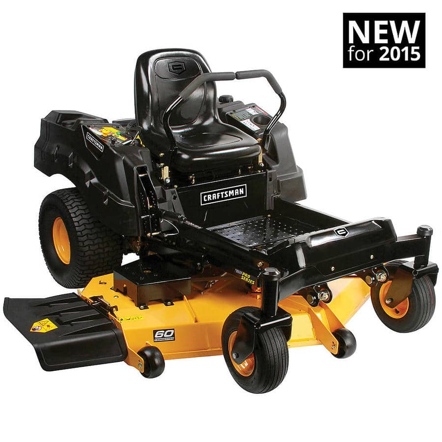 Craftsman Lawn Tractor Grader : Bad boy in cc czt elite commercial grade mower