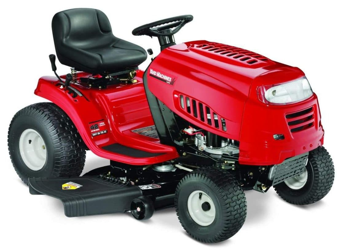 2015 Lawn Tractors Under $1500 - The Complete List