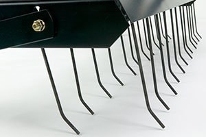 Two Rows Of Tines