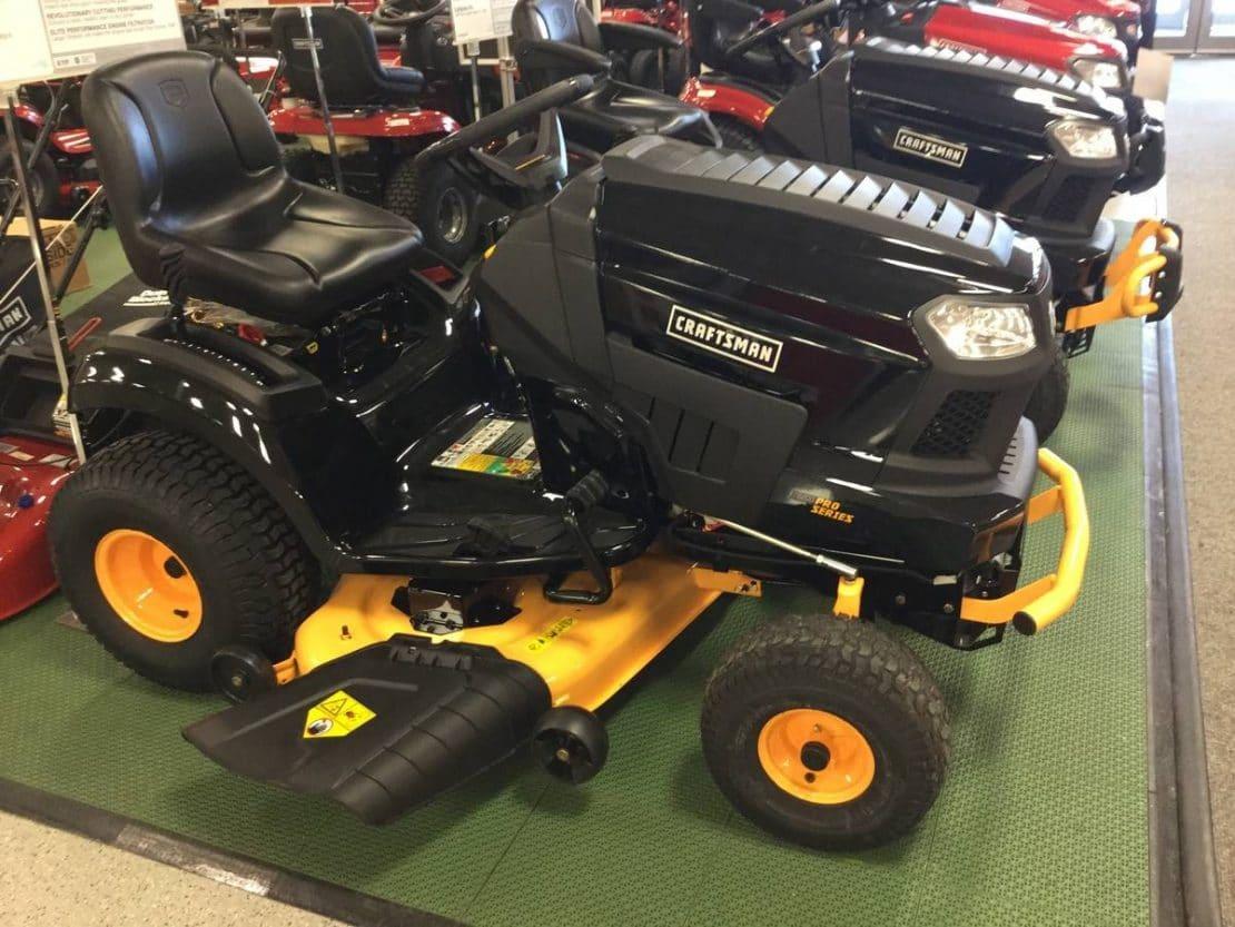 2004 Craftsman Gt5000 Garden Tractor : Craftsman pro series tractors the future is here