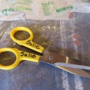 OLFA sent me 2 pairs of the LType GPG-175 Scissors and I'm glad they did - because I would have never had a chance to test them out if they had sent only one pair.