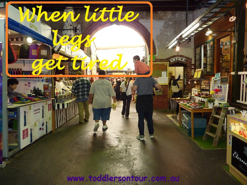 travel with kids when they get tired