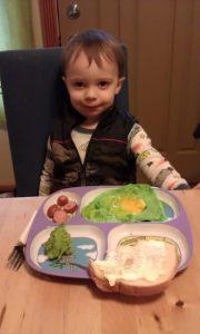 Green eggs & ham - Dr. Seuss food - Dexter