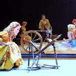 Sleeping Beauty - spinning wheel - Toddling Around Chicagoland