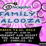 Chicago Fun Family Palooza - banner - Toddling Around Chicagoland