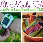 Fit Made Fun with LeapFrog LeapBand and CLIF Kids