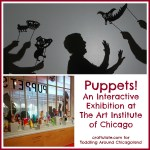 Puppets! An Interactive Installation at The Art Institute of Chicago for All the Family