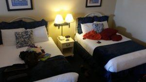 Blue Harbor Resort - Loft Suite - downstairs bedroom