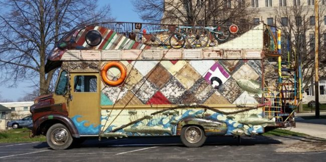 Cool stuff in Sheboygan - art truck