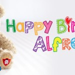 Happy birthday Alfred - Ask Alfred Children's Concierge