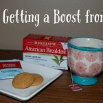 Tea Time Getting a Boost from Bigelow #MeandMyTea #SwapYourCup #WakeUpCall [ad] #cbias