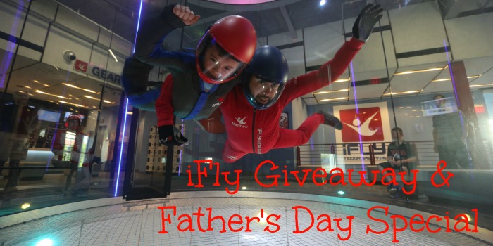 iFly Giveaway and Father's Day Special