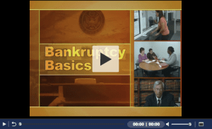 Bankruptcy Basics Videos